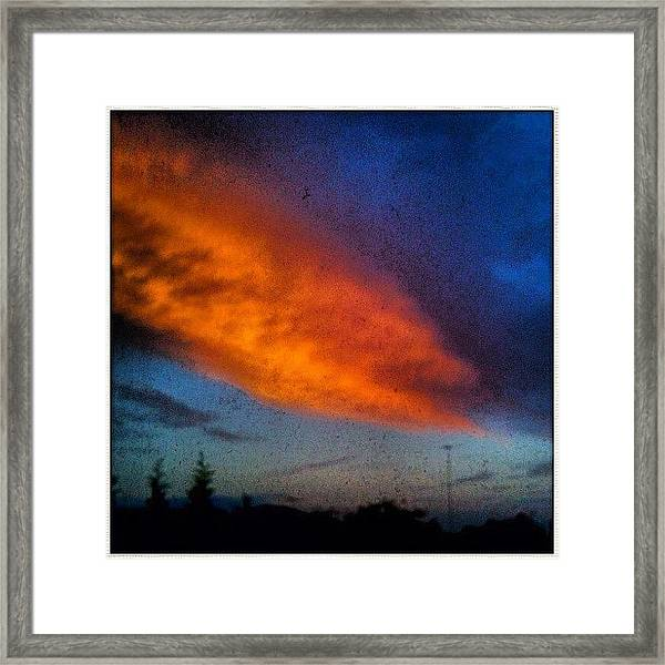 This Morning Over Camden #fcnphoto Framed Print by Luke Fuda