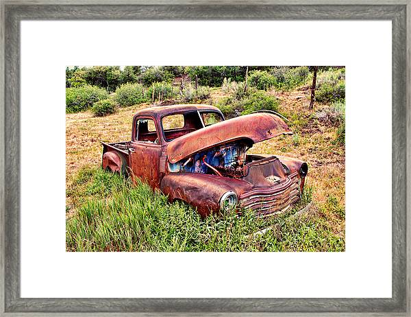 This Old Truck Framed Print
