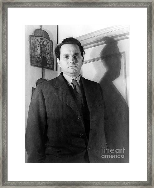Thomas Wolfe (1900-1938) Framed Print