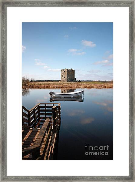 Threave Castle Reflection Framed Print