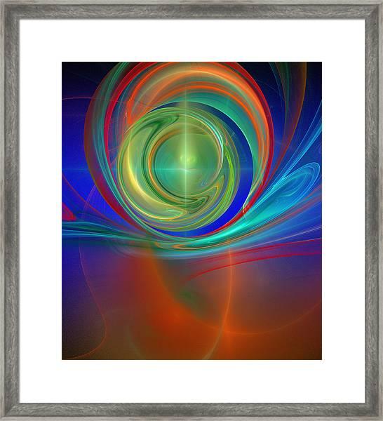 Through The Mind's Eye Framed Print
