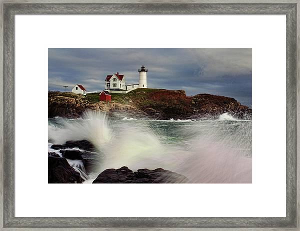 Thundering Tide Framed Print