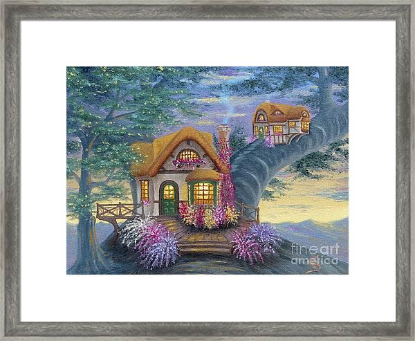Tig's Cottage From Arboregal Framed Print