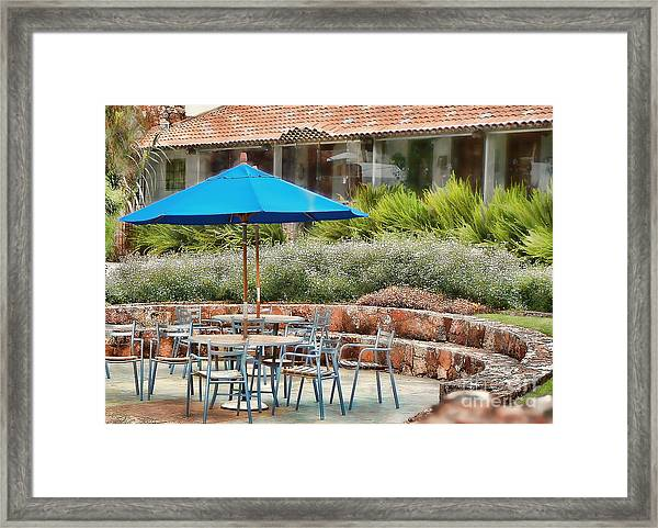 Time For A Break Framed Print