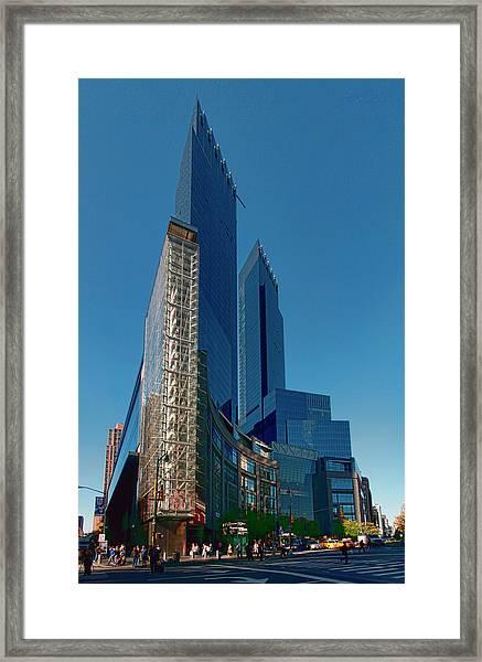 Time Warner Center Framed Print