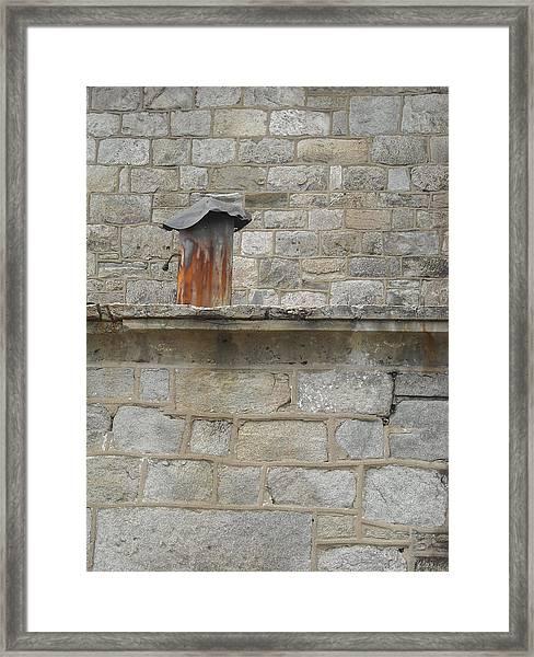 Tin Chimney Framed Print