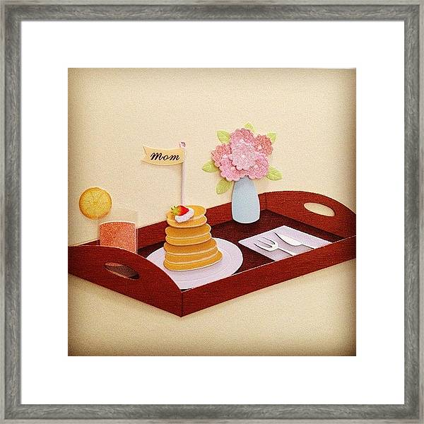 To All The Moms On My Instagram! -- Framed Print