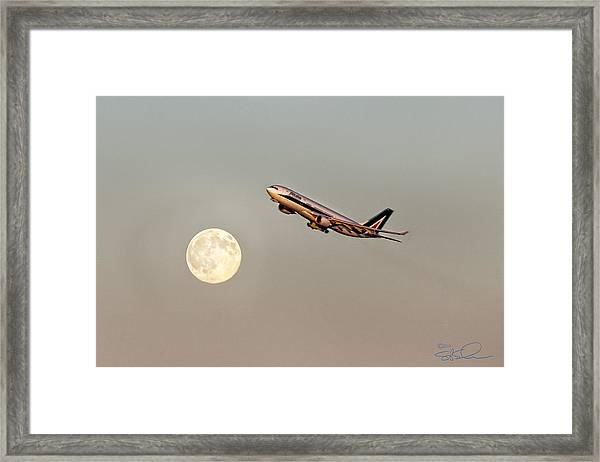 To Italy With Love Framed Print