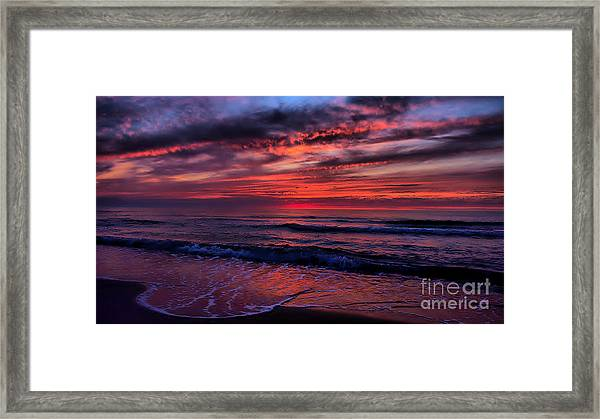 Tongue Of The Sea Framed Print