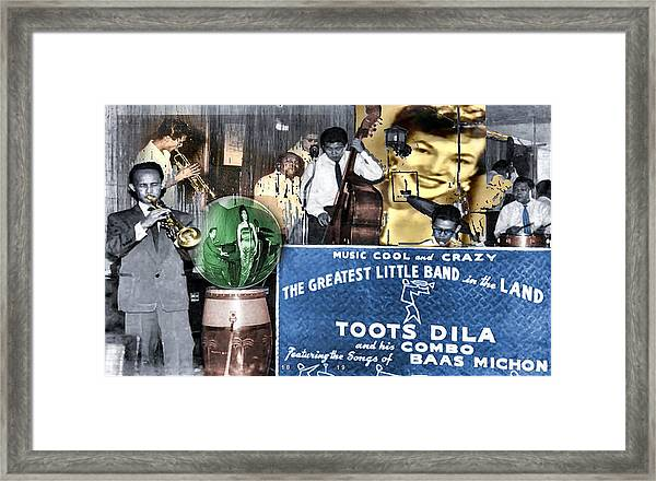 Toots Dila And Band Framed Print