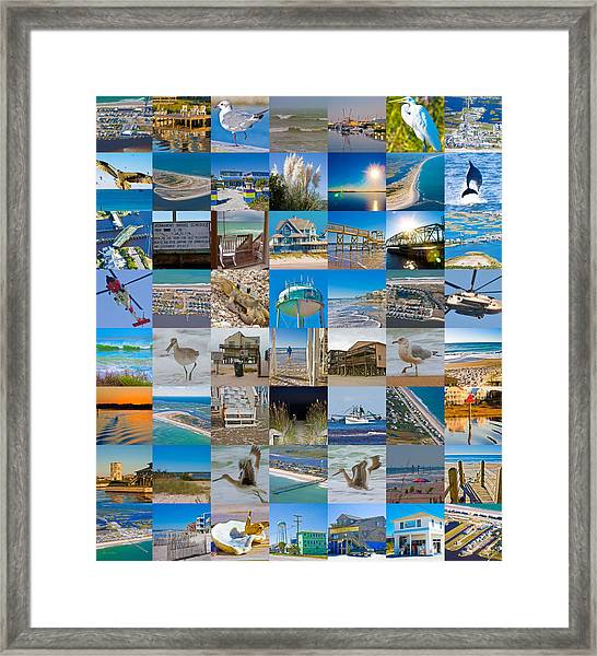 Topsail Visual Contemporary Quilt Series I Framed Print
