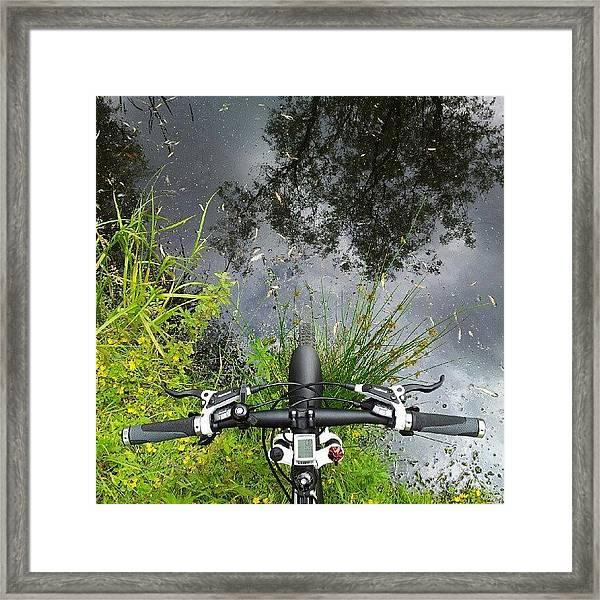 Tour De Aqua Framed Print