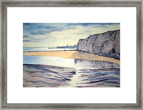 Towards Bridlington From Dane's Dyke Framed Print