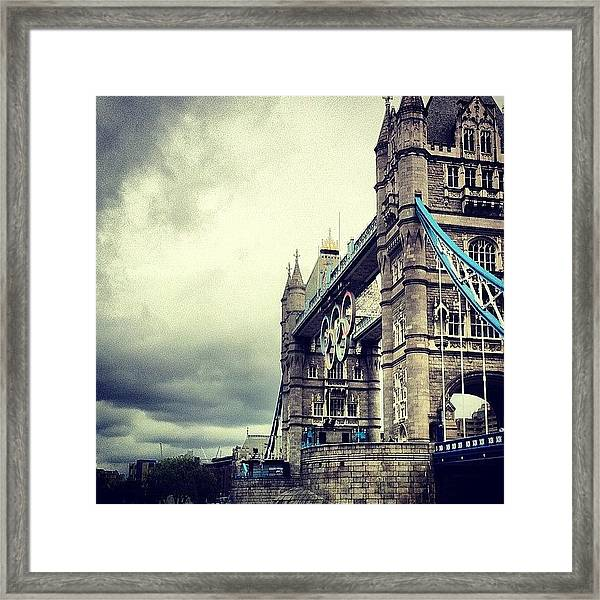 Tower Bridge 2012 Framed Print
