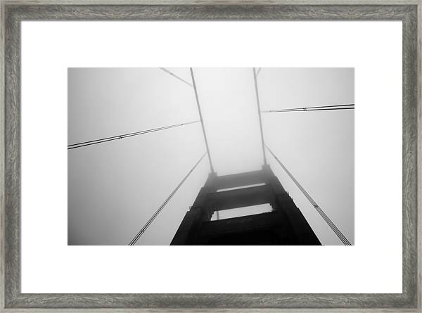 Towering Above Framed Print