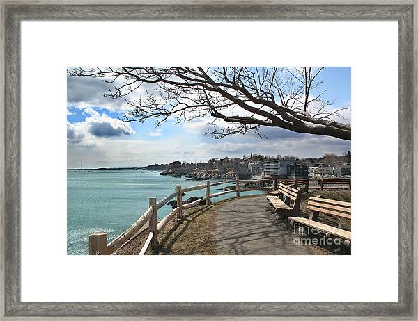 Town Of Marblehead Framed Print