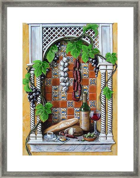 Traditions Framed Print