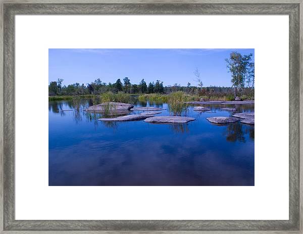 Trans Canada Trail Scenery Framed Print