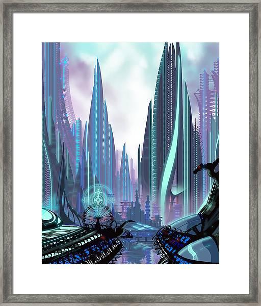 Transia Framed Print