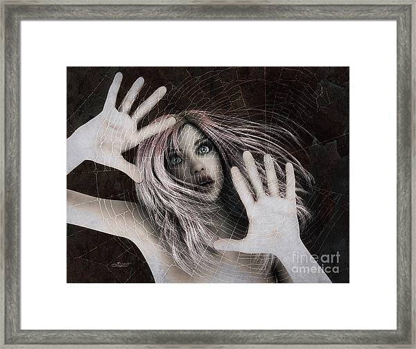 Trapped Framed Print