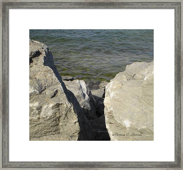 Traverse Bay Shoreline Collections - Michigan Framed Print
