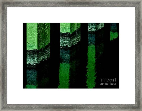 Tres Cool 2 Framed Print