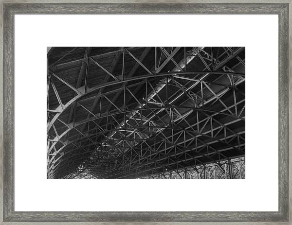 Trussed Roof Framed Print