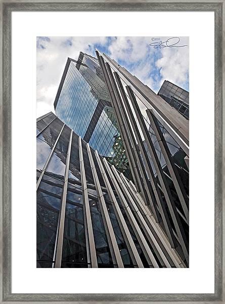 Trylon Towers Framed Print