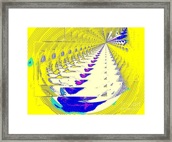 Tunnel Vision Framed Print