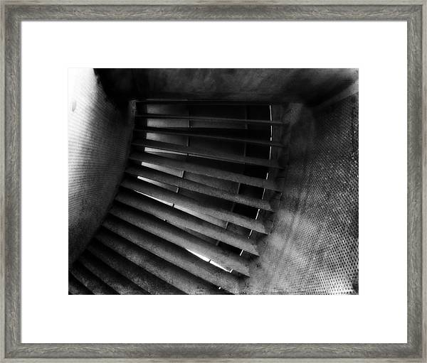 Turbine View Framed Print