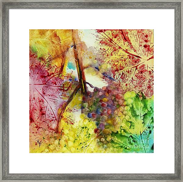 Turning Leaves Framed Print