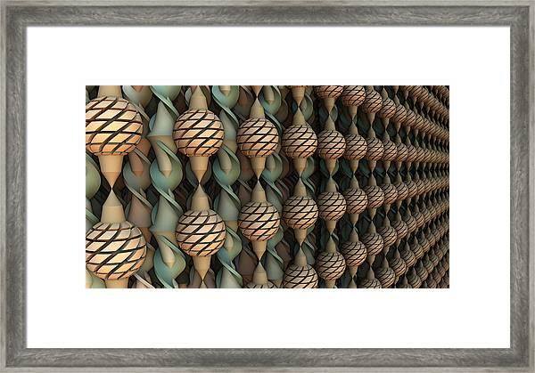Twice Twisted Framed Print