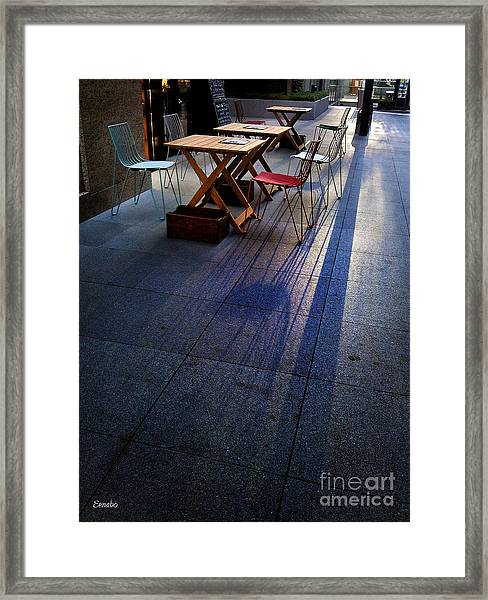 Twilight Shadows Framed Print