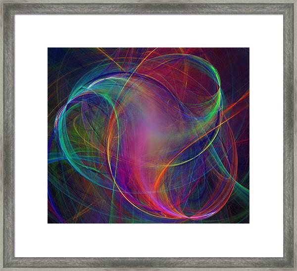 Twist Framed Print