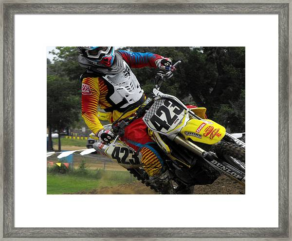 Two Fingers Framed Print by Darrell Moseley