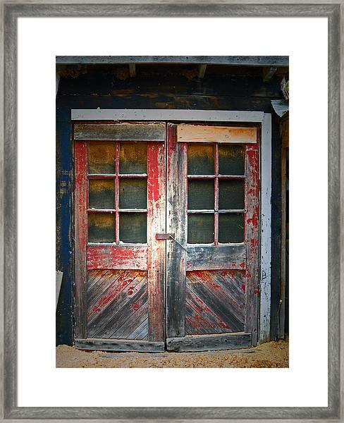 Tyrone Mills 8 Framed Print