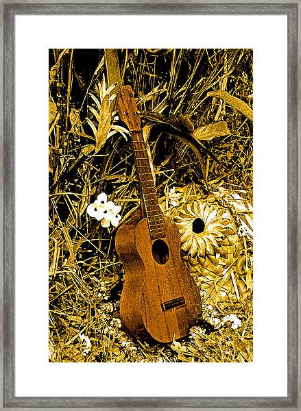Uncle Luthers Ukulele  Framed Print