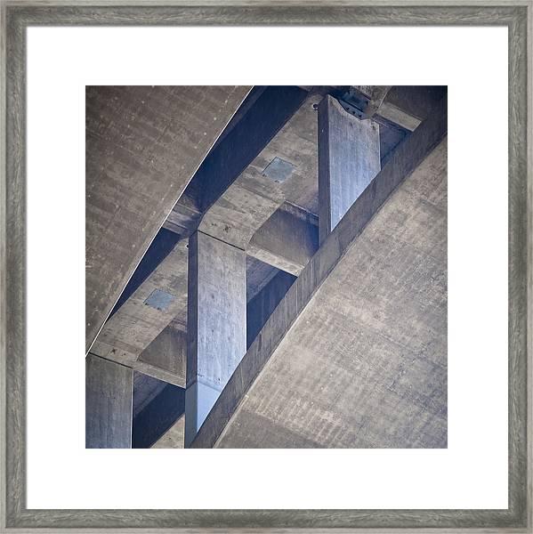 Under 134 Framed Print