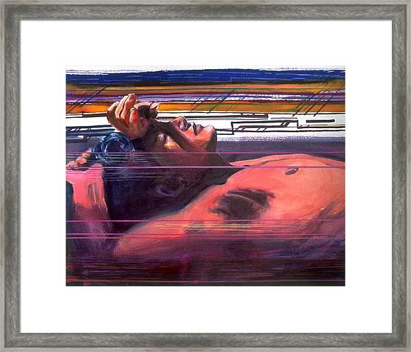 Under Lying Currents Framed Print
