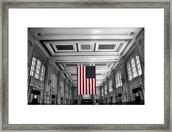 Union Glory Framed Print