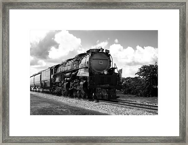 Union Pacific 3985 Framed Print