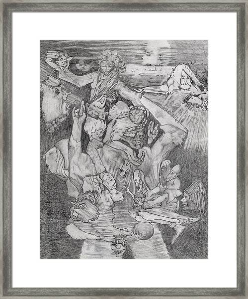 Unmasked Framed Print