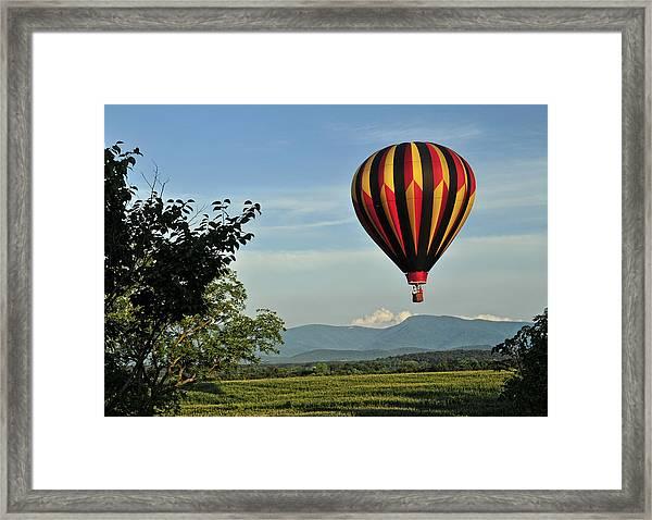 Up Up And Away Blueridge 2 Framed Print
