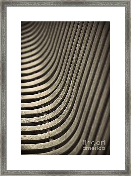 Upward Curve. Framed Print