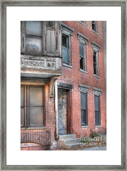 Urban Decay In Cincinnati Framed Print