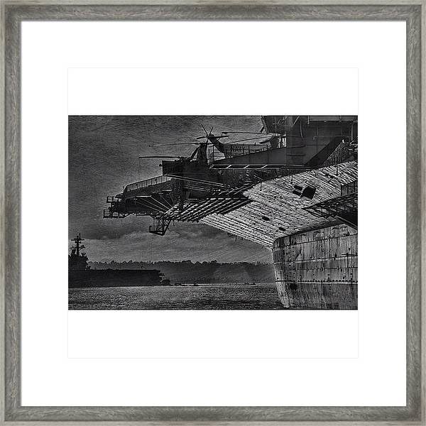 Uss Midway Framed Print