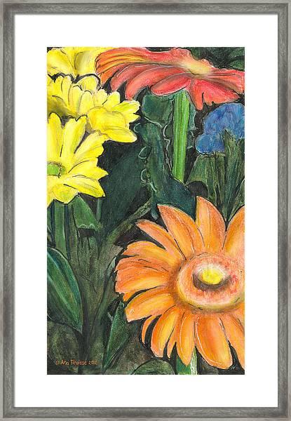Vasco's Flowers Framed Print