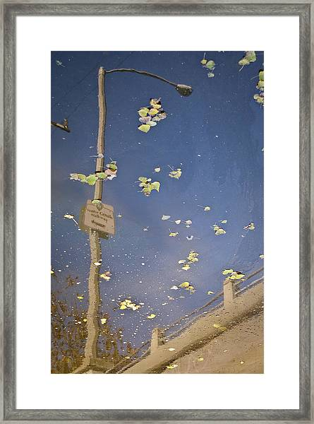 Venice Canals Walkway Framed Print