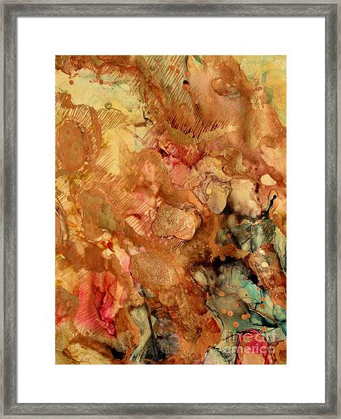 View From Another Realm Framed Print