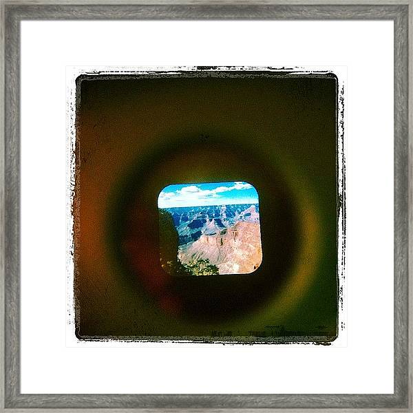 View-master Grand Canyon Pima Point Framed Print